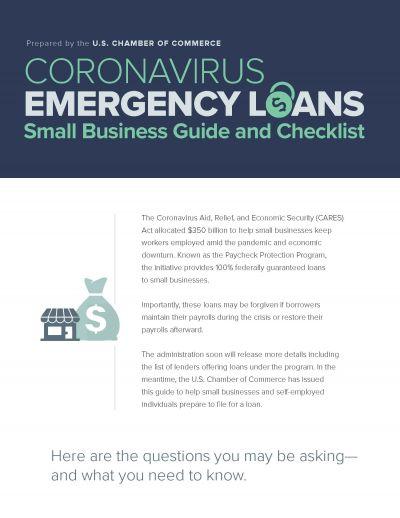 US Chamber Coronavirus Emergency Loan Guide & Checlist